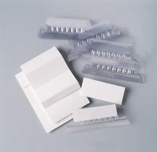 Product SUSPENSION FILE TABS & INSERTS ESSELTE 5CM CLEAR 1 Werko
