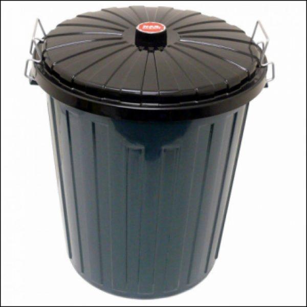 Product Garbage Bin 75Lt Plastic Bin & Lid - Green 1 Werko