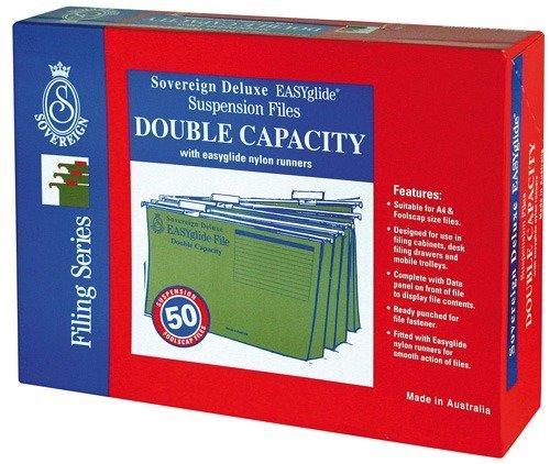 Product SUSPENSION FILE SOVEREIGN DOUBLE CAP BX50 1 Werko