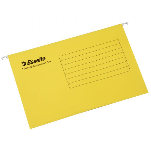 Product SUSPENSION FILE ESSELTE COMPLETE YELLOW PK10 1 Werko