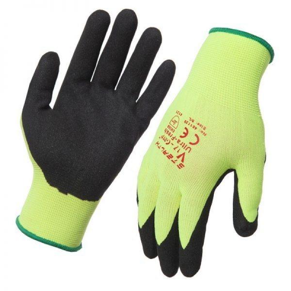 Hi-Vis Stealth Viz-Grip Work Gloves
