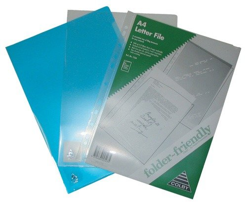 Product LETTER FILE COLBY A4 150A BLUE 1 Werko