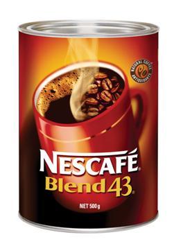 Product COFFEE NESCAFE BLEND 43 CAN 500G 1 Werko