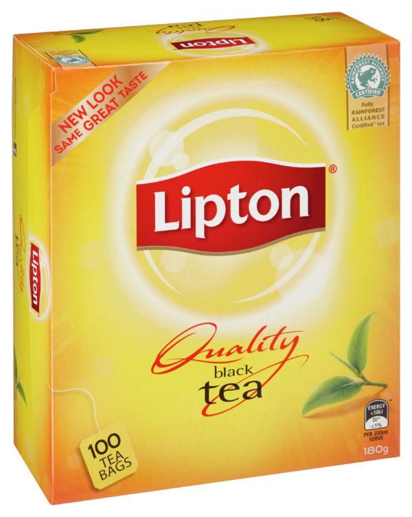Product TEA BAGS LIPTON BLACK 100'S 1 Werko