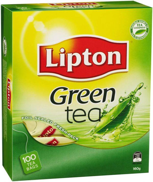 Product TEA BAGS LIPTON GREEN TEA 100'S 1 Werko