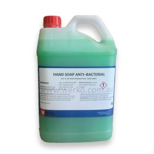 Anti Bacterial Hand Soap 5 Litres - Werko