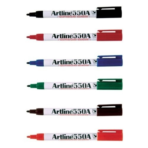 Product Artline 550A Whiteboard Markers Assorted 12 Pack 1 Werko