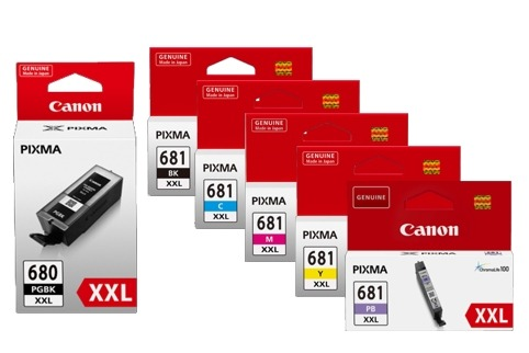 Product Genuine Canon PGI-680XXL CLI681XXL Ink Value Pack Extra High Yield 1 Werko