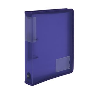 Product Protext Binder Buddy A4 2 RING 25mm With Zipper, Handle, P/Case and Pockets Blue 1 Werko