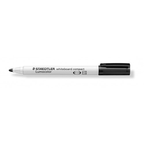 Product Staedtler 341 Compact Whiteboard Markers Black 10 Pack 1 Werko