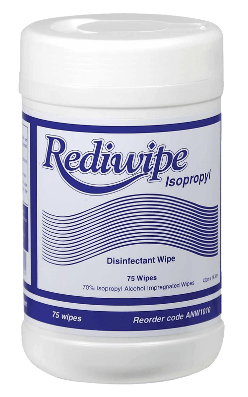 Product Rediwipe Isopropyl Alcohol Disinfectant Wipes 1 Werko