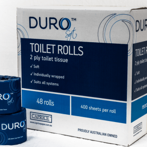 Duro Premium Toilet Roll 2 Ply 400 Sheets X 48 Rolls