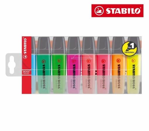 Product Stabilo Boss Highlighter Assorted 8 Pack 1 Werko