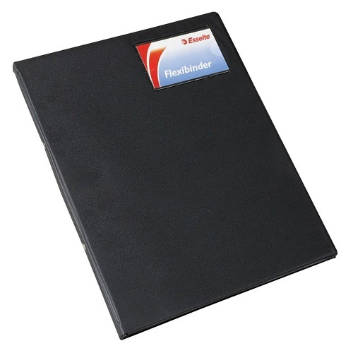 Product Esselte Flexi Binder A4 2 Ring 20mm Black 1 Werko