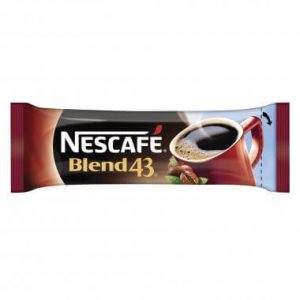 Nescafe Blend 43 Instant Coffee Sticks 1000 Pack