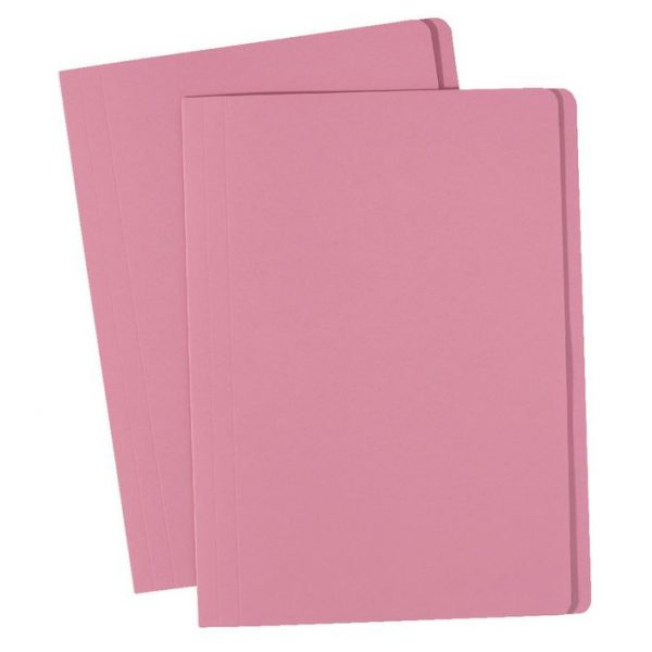 Product Avery Foolscap Manilla Folders Pink 100 Pack 1 Werko