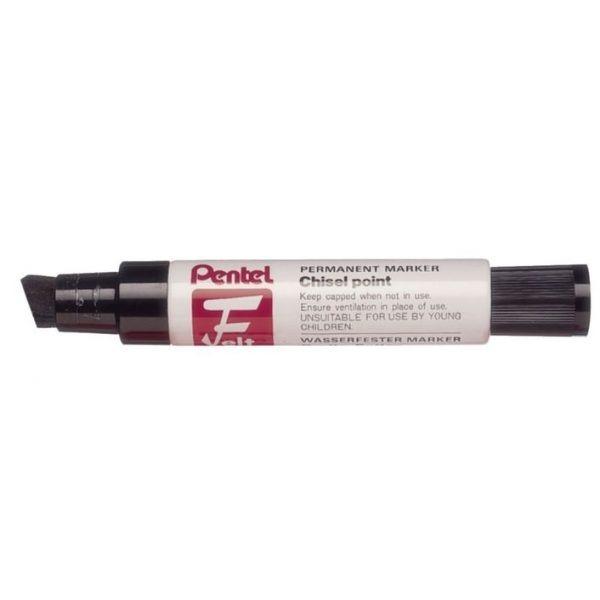Product Pentel M180 Jumbo Permanent Marker Black 6 Pack 1 Werko