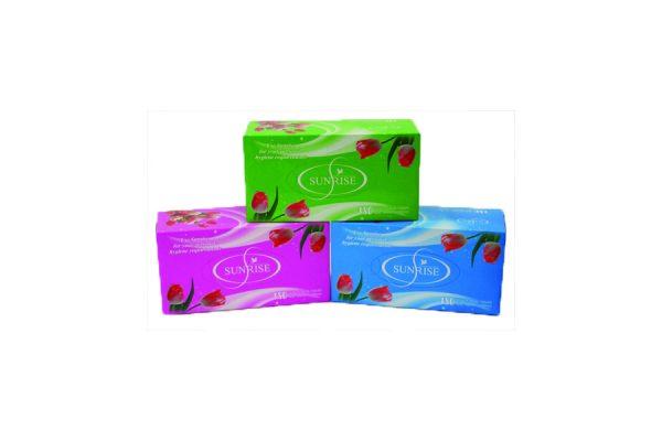 Product Sunrise 2ply Facial Tissue 180/Box 36/CTN 1 Werko