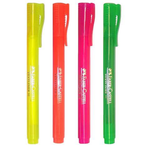 Product Faber-Castell Textliner Pocket Highlighters 38 Assorted 4 Pack 1 Werko
