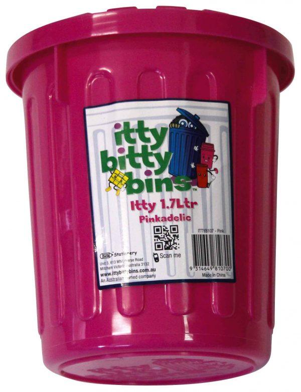 Product Storage Bin Itty Bitty Itty 1.7L 150X120Mm Pinkadelic 1 Werko