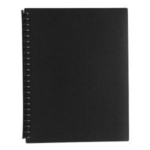Razorline Refillable Display Book A4 20 Pocket Black