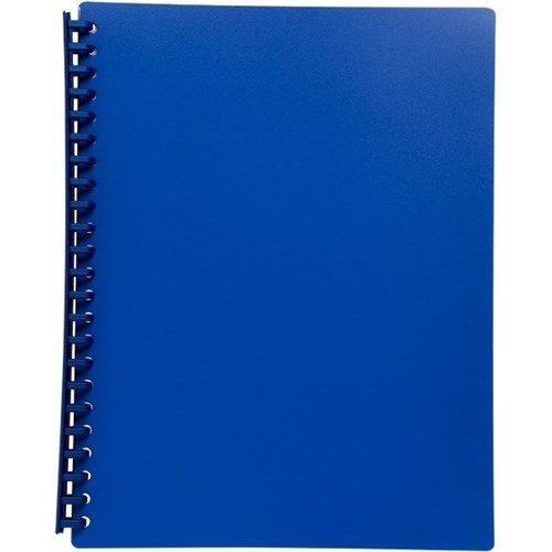 Razorline Refillable Display Book A4 20 Pocket Blue