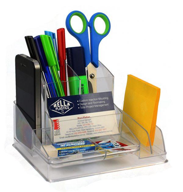 Product Italplast Desk Organiser Assorted Colours 12 Werko