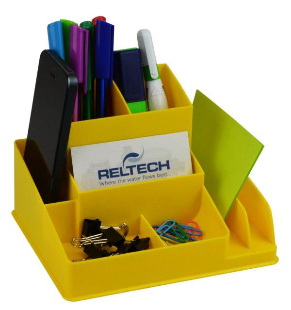 Product Italplast Desk Organiser Assorted Colours 1 Werko