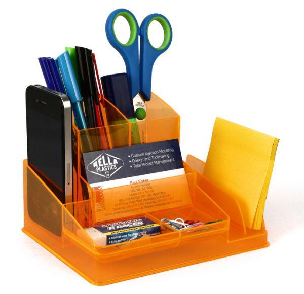 Product Italplast Desk Organiser Assorted Colours 3 Werko