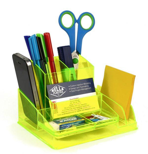 Product Italplast Desk Organiser Assorted Colours 5 Werko
