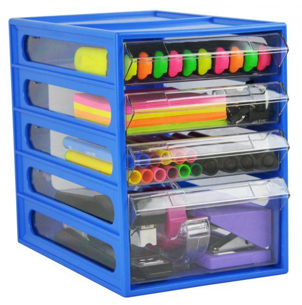Product Italplast Office Organiser 4 Drawer 1 Werko