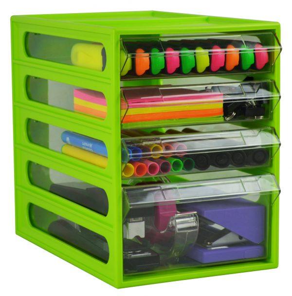 Product Italplast Office Organiser 4 Drawer 4 Werko
