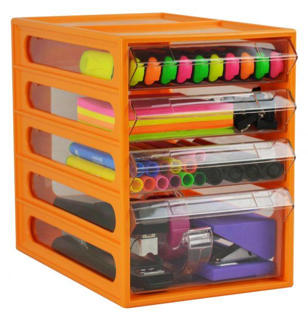 Product Italplast Office Organiser 4 Drawer 5 Werko