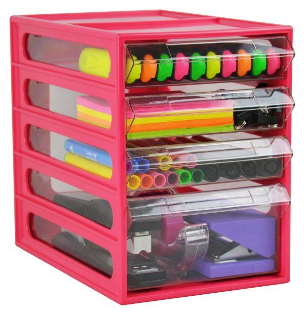 Product Italplast Office Organiser 4 Drawer 6 Werko