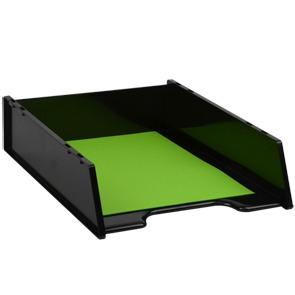 Product Italplast Document Tray Green Recycled Black 1 Werko