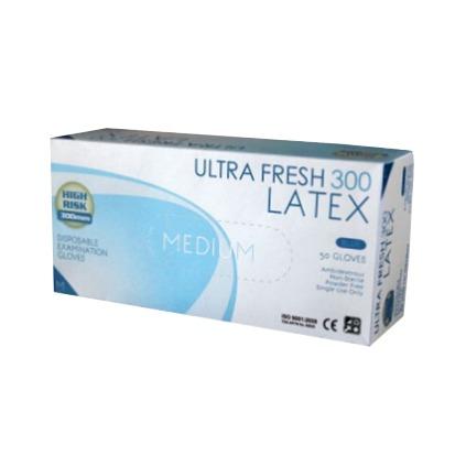 Ultra Fresh 300mm Blue High Risk Powder Free Exam Glove