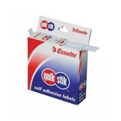 Product Quik Stik Dispenser Labels 16X24 White 1 Werko