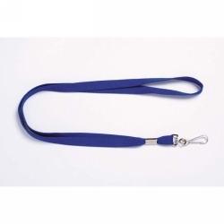 Product REXEL LANYARDS FLAT W/SWIVEL CLIP BLUE 10'S 1 Werko