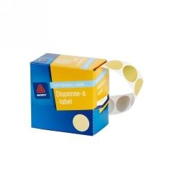 Product Avery Dispenser Labels 24mm Gold Dot DM24GO 1 Werko