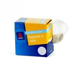 Product Avery Dispenser Labels 24mm White Dot DMC24C 1 Werko