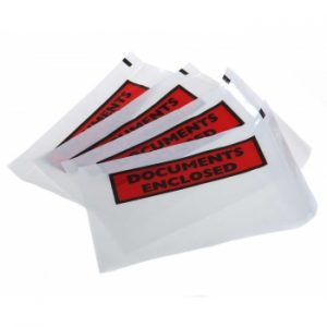 Razorline Documents Enclosed Labelopes 155mm x 115mm 1000 Pack