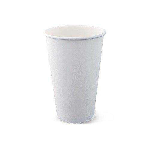 Single Wall White Hot Cups 360ml (12oz) Box Of 1000