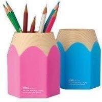 Deli Pen Holder Pink/Blue