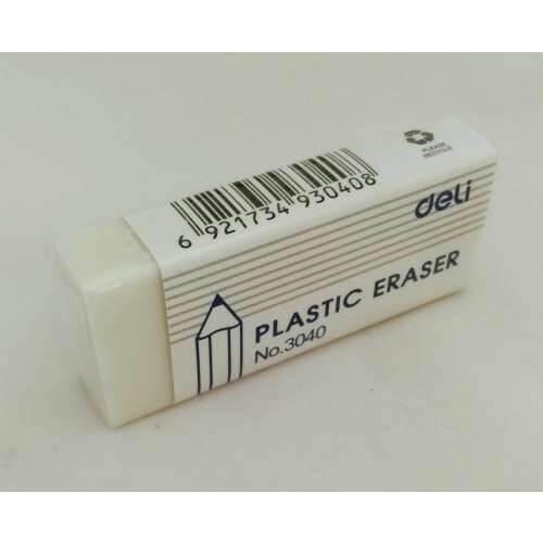 Deli 60x25 Eraser Plastic 30 Pack