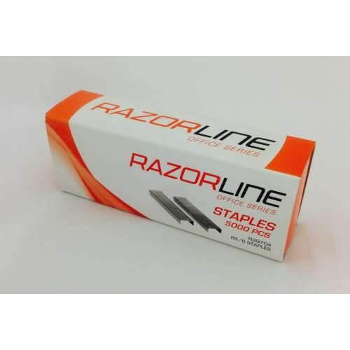 Razorline Staples 26/6 5000 Pack