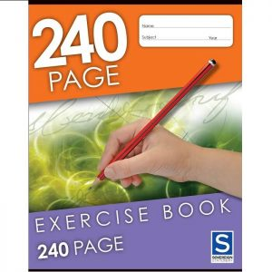 Sovereign 225X175mm 8mm Ruled Exercise Book 240 Page
