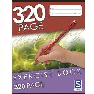 Sovereign 225X175mm 8mm Ruled Exercise Book 320 Page