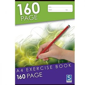 Sovereign A4 8mm Ruled Exercise Book 160 Page