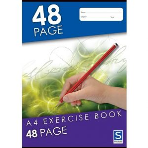 Sovereign A4 8mm Ruled Exercise Book 48 Page