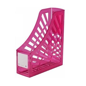 Italplast Magazine Stand Tinted Pink